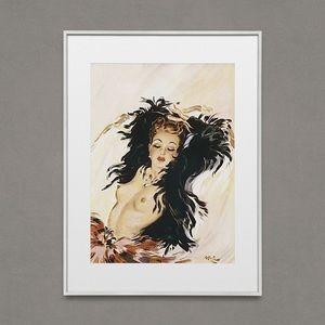 Glamorous Woman Vintage Artwork
